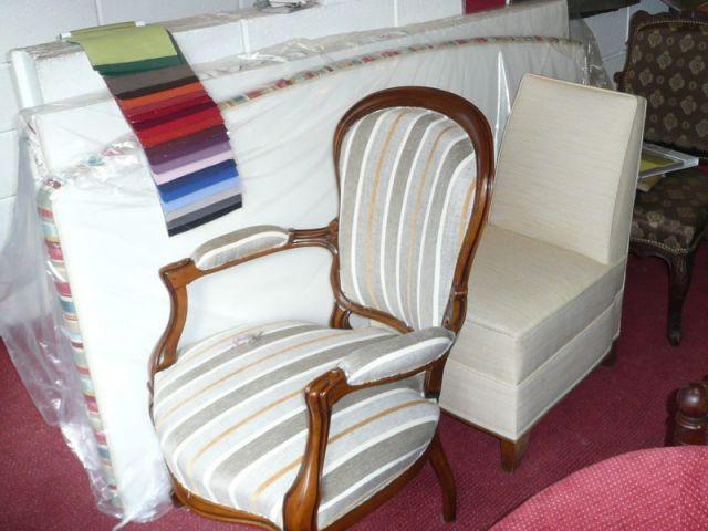 Tapisserie - reportage - meubles