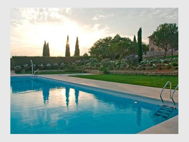 La piscine - Domaine la Coquillade