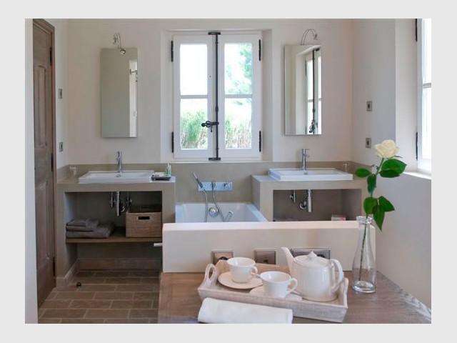 Salle de bain - Domaine la Coquillade