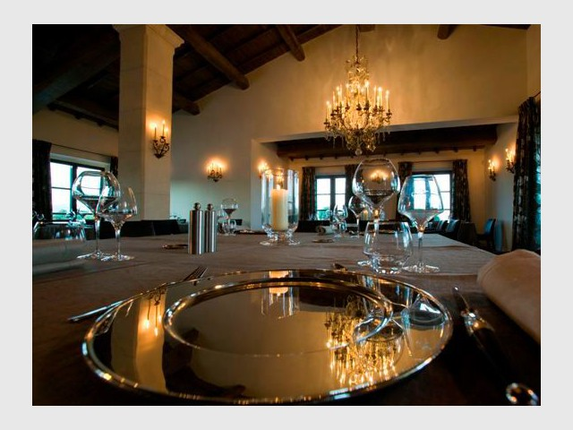 Table gastronomique - Domaine la Coquillade