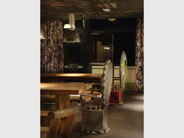 Restaurant - Hôtel Mama Shelter - Starck