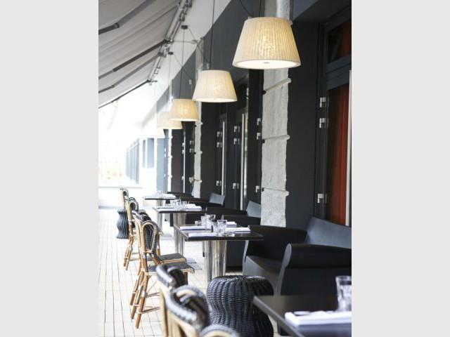 Terrasse - Hôtel Mama Shelter - Starck