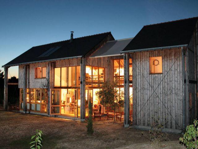 La maison Lumière - Palmarès maison bois 2008