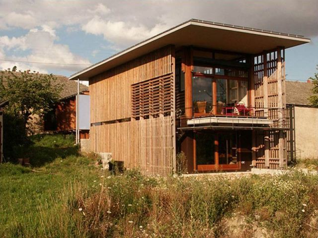 Une maison en belvédère - Palmarès maison bois 2008