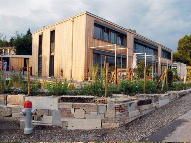 Habitat collectif 8620 Wetzikou - Palmarès maison bois 2008