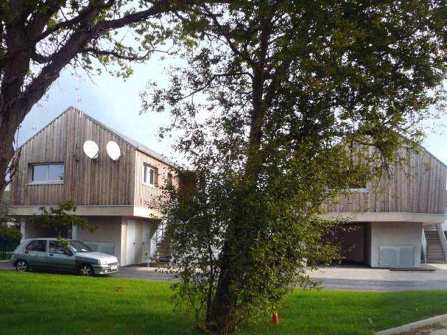 Logements sociaux - La Chapelle des Marais - Palmarès maison bois 2008