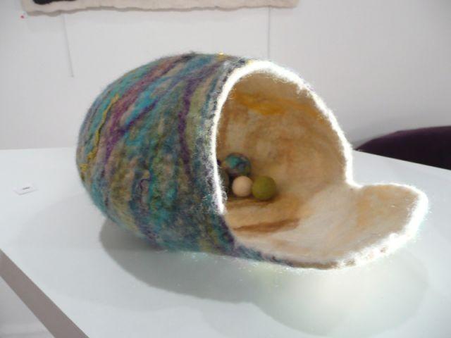 Boite coquillage - Thea de Lange Création textile