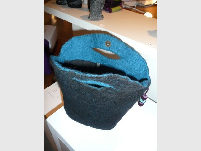 Sac en feutre - Thea de Lange Création textile