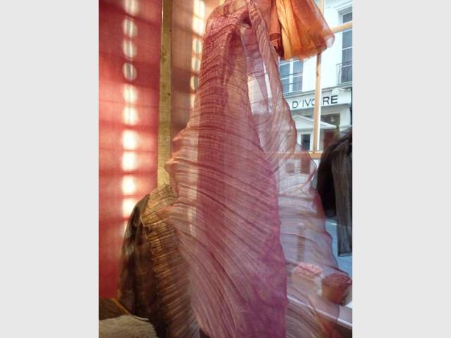 Tissu en fibres de bananier - Textile Ysabel de Maisonneuve