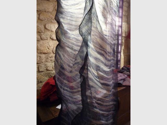 Tissu en 3D - Textile Ysabel de Maisonneuve