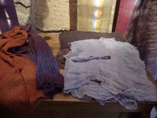 Créations en poils de chèvre - Textile Ysabel de Maisonneuve