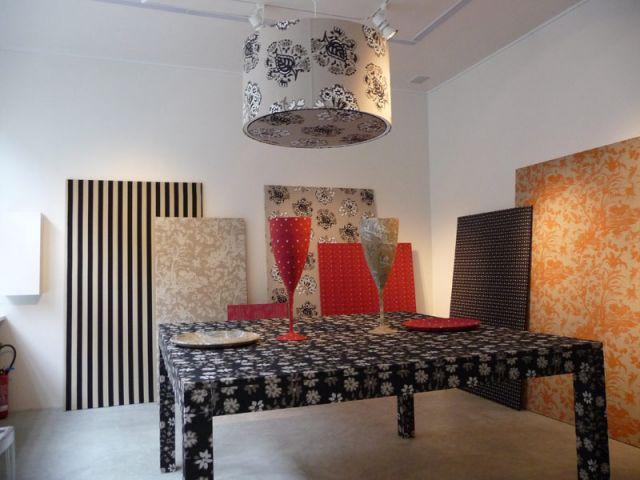 """Mise en scène """"à table"""" - Textile Olivades"""