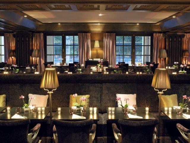Restaurant relooké par  Jacques Garcia - Hôtel Westin Paris
