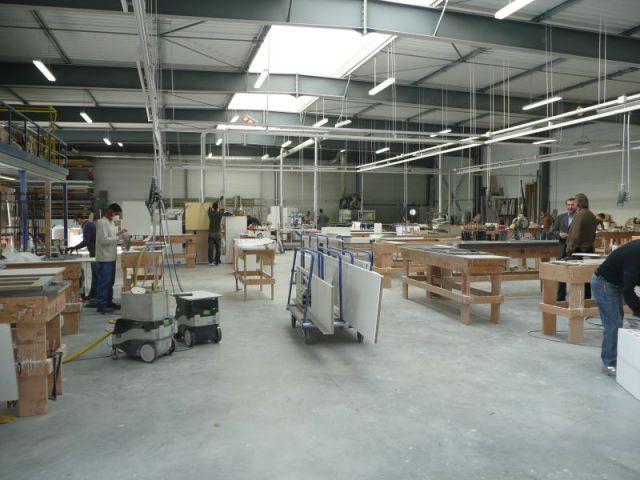Atelier de transformation - Atelier STC - transforamtion corian