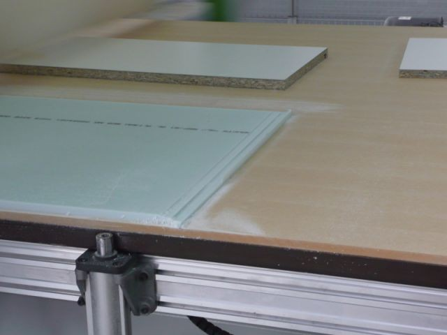 Usinage 3/3 - Atelier STC - transformation Corian