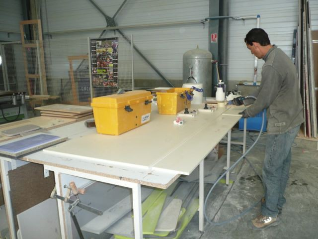Collage 1/2 - Atelier STC - transformation Corian