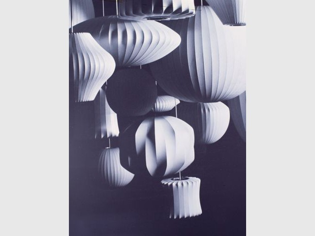 Bubble Lamps 1952 - Design de Georges Nelson Vitra