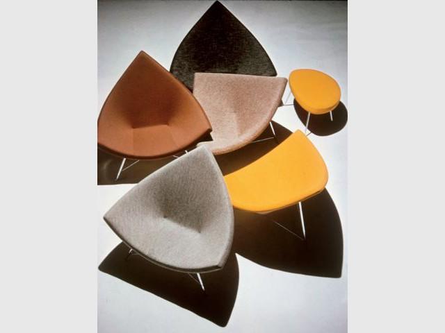 Coconut Chair 1956 - Design de Georges Nelson Vitra