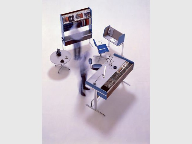 Action Office I, 1964 - Design de Georges Nelson Vitra