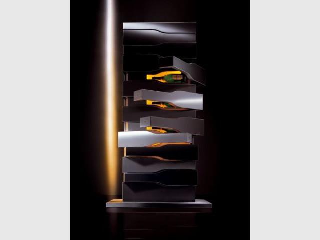 Cave à vins Vertical Limit - Observeur du Design 2009 - travaux