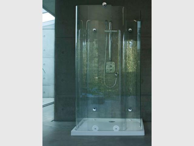 Arrondi - Cabine de douche
