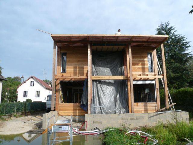 Une maison qui fait bloc - Maison bloc modulaire ...