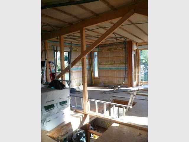 Construction - à l'intérieur - Maison d'architecte - Reportage