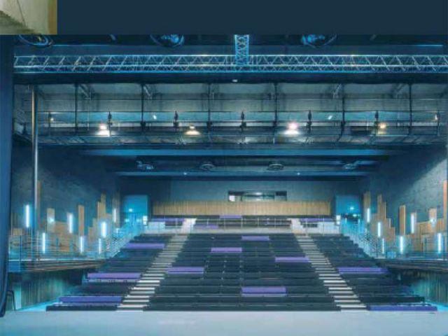 Salle de musiques actuelles «La Carène»à Brest (29