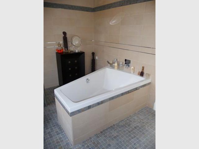 Salle de bains - Baignoire - reportage salle de bain