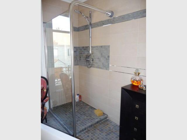 Douche - reportage salle de bain