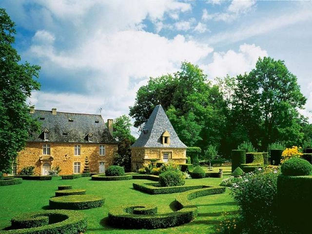 Les jardins du manoir d'Eyrignac - Jardins de France