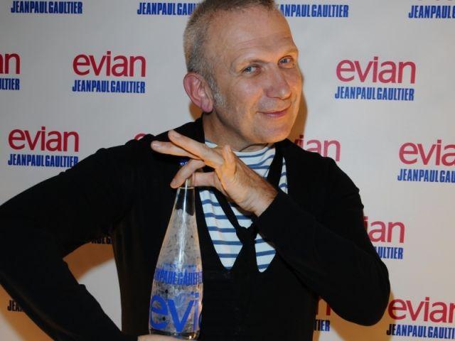 Bouteille Evian - Jean-Paul Gautier