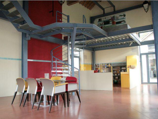 Salle à manger et cuisine - Loft - Reportage