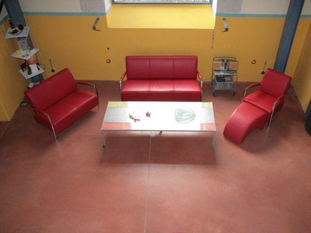 Salon après travaux - Loft - Reportage