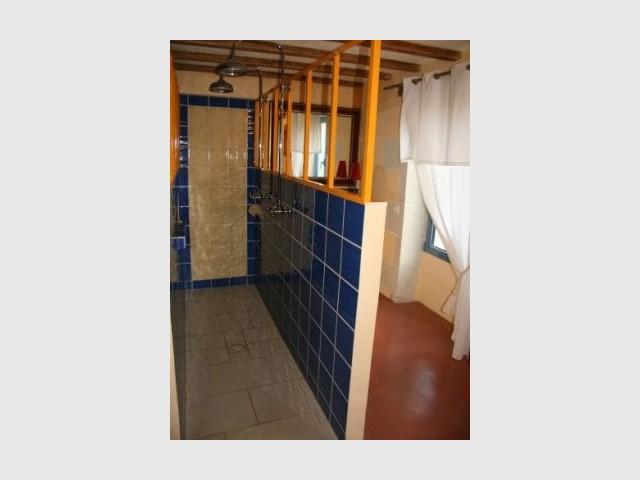 Salle de bain après travaux - Loft - Reportage