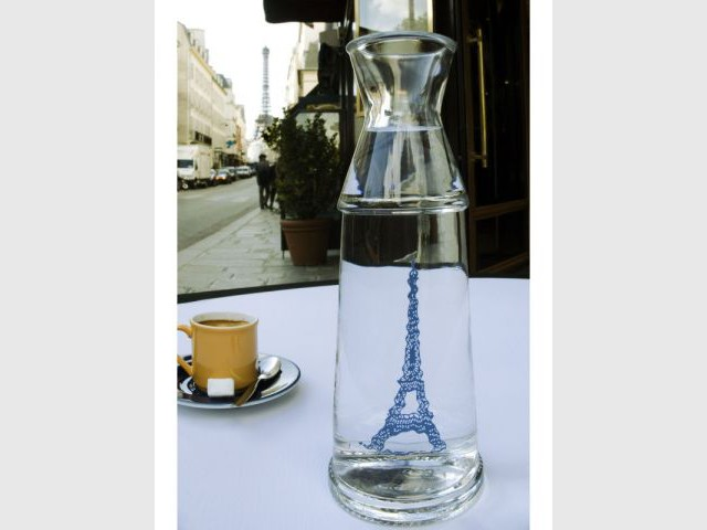 "Carafe ""Eau de Paris"" - Edition 2008 - Carafe Eau de Paris"