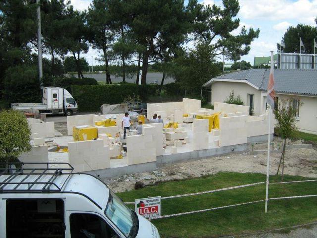 Formation des murs et des ouvertures - gaia
