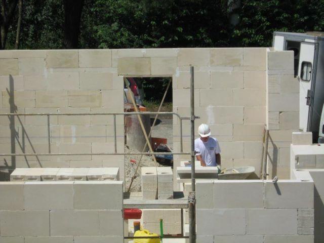 Montage des murs et ouvertures - gaia