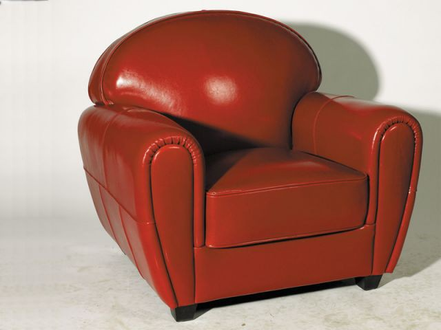 Rouge - Fauteuil club