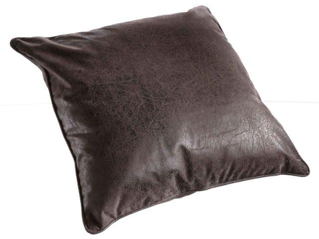Coussin en cuir vieilli - Objets en cuir