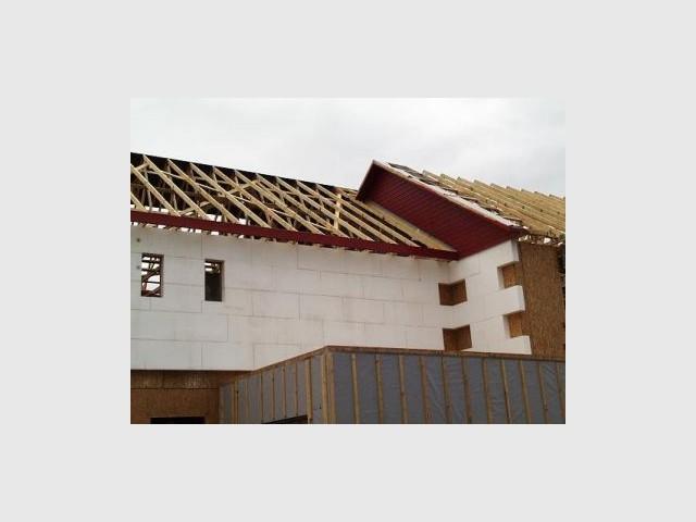 Toiture 2/2 - Premières maisons Passivhaus - Les Airelles