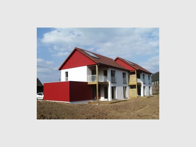 Premières maisons Passivhaus - Les Airelles