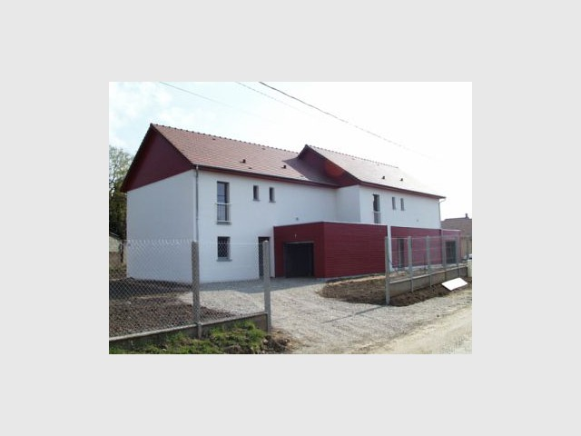 Ecologiquement correctes - Premières maisons Passivhaus - Les Airelles