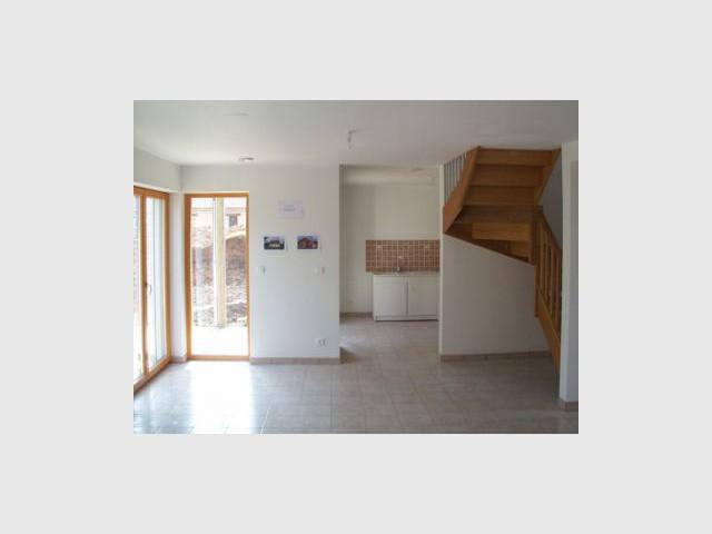 Intérieur - Premières maisons Passivhaus - Les Airelles