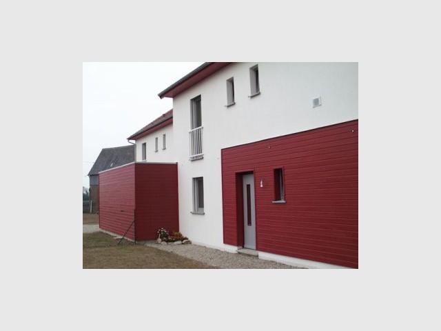 Extérieur - Premières maisons Passivhaus - Les Airelles