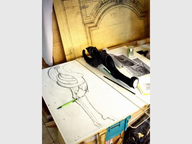 Sculpture d'Etienne Rayssac - Elus Maîtres d'Art