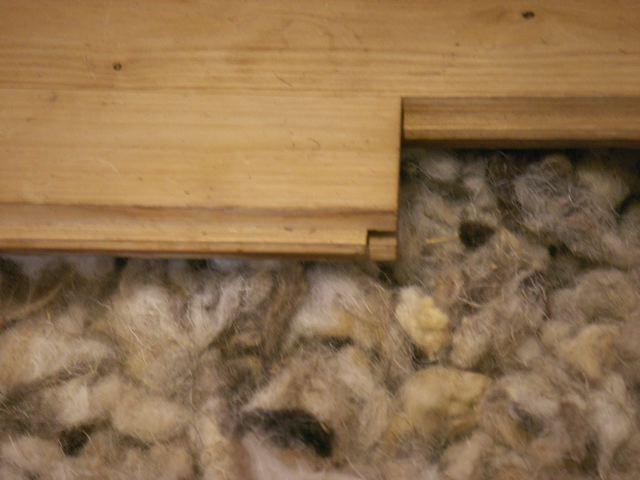 Isolation sous plancher - Salon Bâtir écologique
