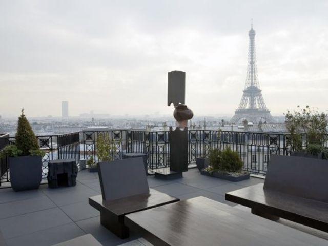 Terrasse - Immobilier de prestige - luxe