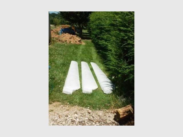 Les pales - Une éolienne dans son jardin