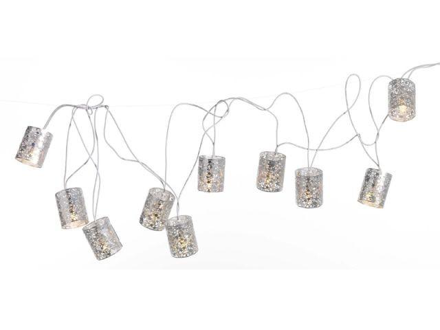 Rondes en métal - Guirlandes lumineuses